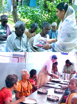 Supporting Widows & Old age People