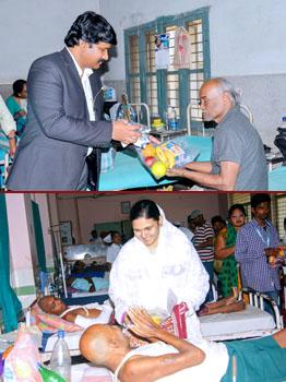 Hospital Mission & Fruits Distribution