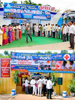 Medical Camps & Medical Care Support