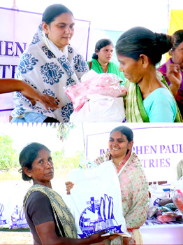 Cloth Distribution for Poor & Orphans
